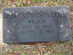 Ruth Elizabeth <I>Cockrell</I> Wilson