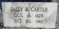 Daisy Dean <I>Barfield</I> Carter