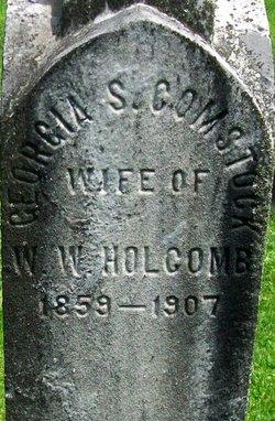 Georgia S. <I>Comstock</I> Holcomb