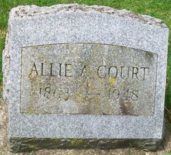 Allie A. <I>Barker</I> Court