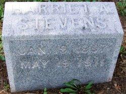 Harriet A. Stevens