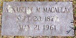 Annabelle M Macaulay