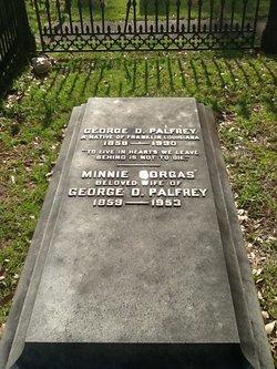 """Minnie """"Amelia"""" <I>Gorgas</I> Palfrey"""