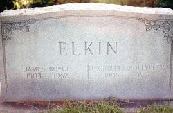 """James Boyce """"Buster"""" Elkin"""