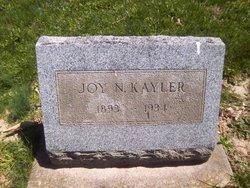 Joy Nevers <I>Chambers</I> Kayler