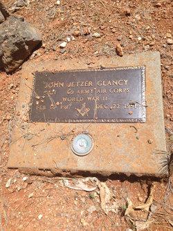 John Jetzer Glancy