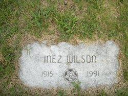 Inez Ruby <I>Daugherty</I> Wilson