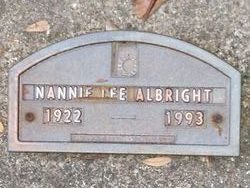 Nannie Lee Albright
