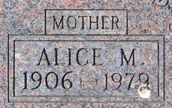 Alice Mae <I>Morrison</I> Burson