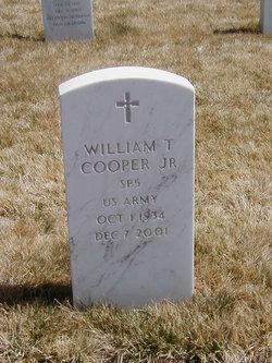 William T Cooper, JR