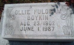 Ollie Verna <I>Fulgham</I> Boykin