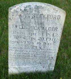 Sarah <I>Seekford</I> Alger