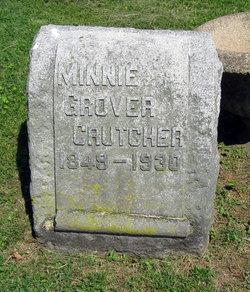 Armilda Minnie <I>Grover</I> Crutcher