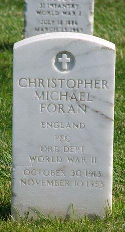 Christopher Michael Foran