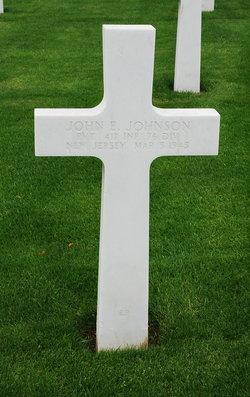 Pvt John Edward Johnson