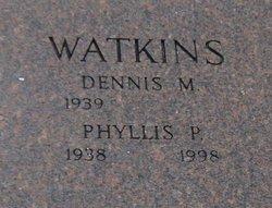 Phyllis Patricia <I>Schrack</I> Watkins
