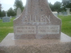"""Evelyn Anete """"Ester Rosilia Mueller"""" <I>Dupre</I> Allen"""