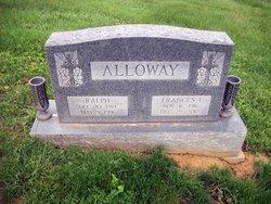Frances I <I>Knowlton</I> Alloway