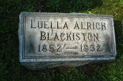 Ada Luella <I>Alrich</I> Blackiston