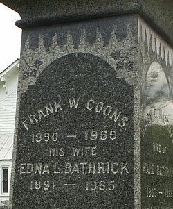 Edna L <I>Bathrick</I> Coons