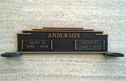 Alice D. Anderson