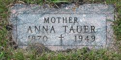 Anna <I>Singer</I> Tauer
