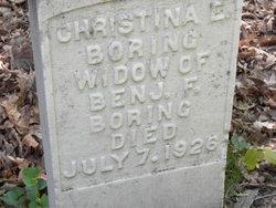 Christina E. <I>Maple</I> Boring