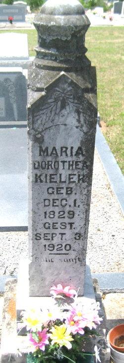 Maria Dorathea <I>Kohleffel</I> Kieler