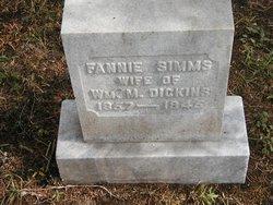 Fannie <I>Sims</I> Dickins