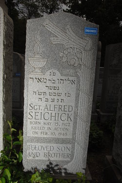Sgt Alfred Seichick