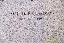 Mary M. <I>Lawver</I> Richardson