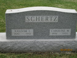 Caroline M. <I>Deal</I> Schertz