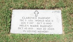Helen Marie <I>Rhone</I> Hadnot