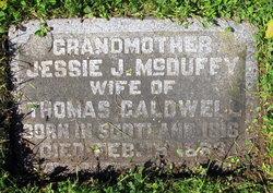 Jessie <I>McDuffy</I> Caldwell