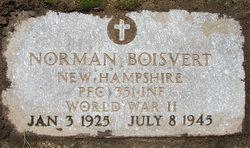 PFC Norman Boisvert