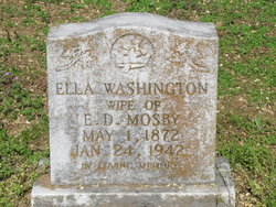 Ella <I>Washington</I> Mosby