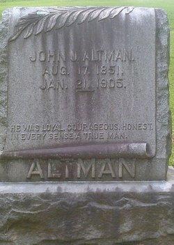 COL John Jasper Altman