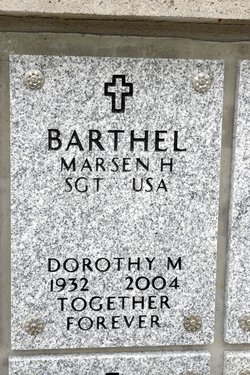Dorothy Mildred <I>Bottema</I> Barthel