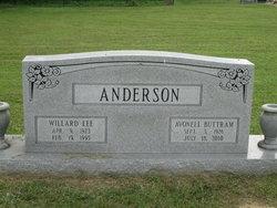 Avonell <I>Buttram</I> Anderson