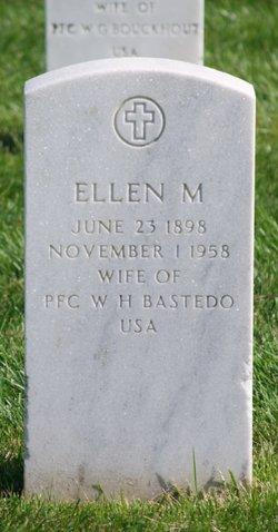 "Ellen ""Nellie"" <I>Milton</I> Bastedo"