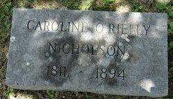 Caroline Gordon <I>O'Rielly</I> Nicholson