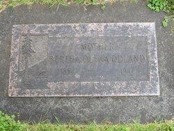 Bertha Olena Odland