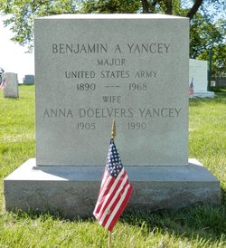 Anna Wilhelmina <I>Doelvers</I> Yancey