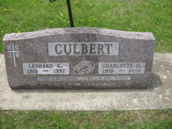 Charlotte Olga <I>Borlaug</I> Culbert