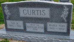 Madge <I>York</I> Curtis