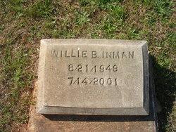 Willie B Inman