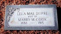 Lela Mae <I>Dupre</I> Cook