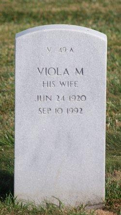 Viola M Crowell