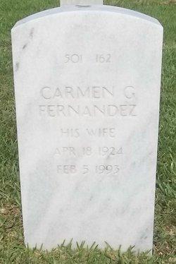 Carmen G Fernandez