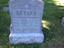 Edna <I>Devitt</I> Betker